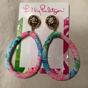 Lilly Pulitzer Bohemian Queen earrings